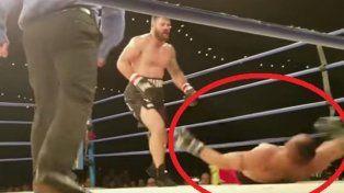 conmocion mundial por la muerte de un boxeador de mma tras ser noqueado