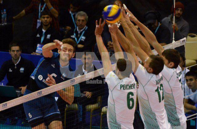 Argentina volvió a festejar contra Bulgaria