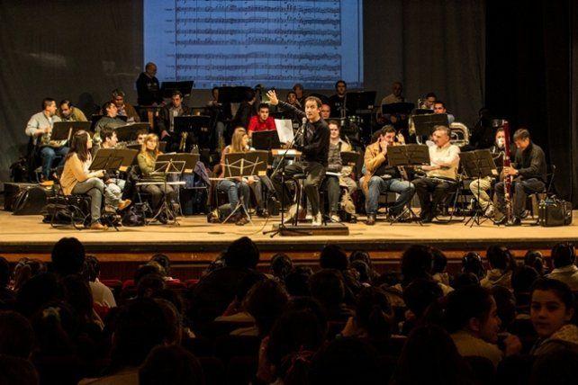 Conciertos didácticos gratuitos de la Banda Sinfónica Municipal