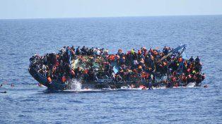 Más de 120 inmigrantes murieron en un naufragio en el Mediterráneo