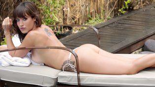 Camila, la hermana de Luli Salazar, al desnudo