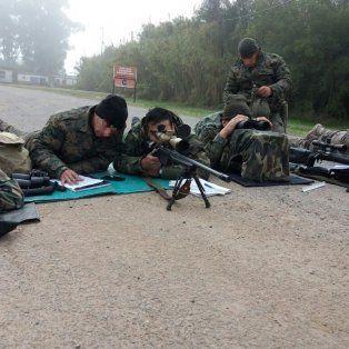 Un policía de las TOE aprobó el curso de francotirador dictado por el Geof