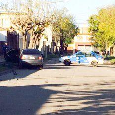 Venado Tuerto. El auto en el que Nacre embistió y mató a tres miembros de una familia.