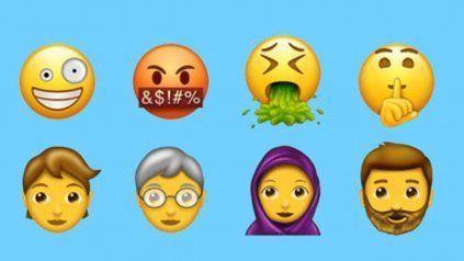 Un bife, duendes, dinosaurios y vampiros dentro de los más de 50 nuevos emojis