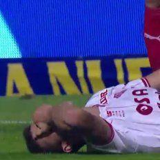 No apto para impresionables: la terrible lesión que sufrió Nicolás Andereggen