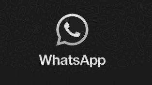 el modo black de whatsapp, otro intento de estafa