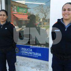 Dos suboficiales de la Policía Comunitaria salvaron a una beba con RCP