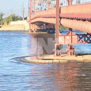 el rio parana llego a los 5,30 metros y alcanzo el nivel de alerta en santa fe