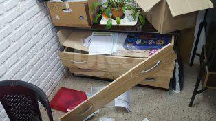 Indignante: delincuentes dañaron aberturas y robaron elementos en la escuela Roca de Colastiné Norte