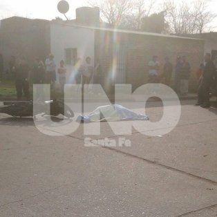 crimen en hipodromo: tres certeros balazos desde atras ante la mirada de los vecinos