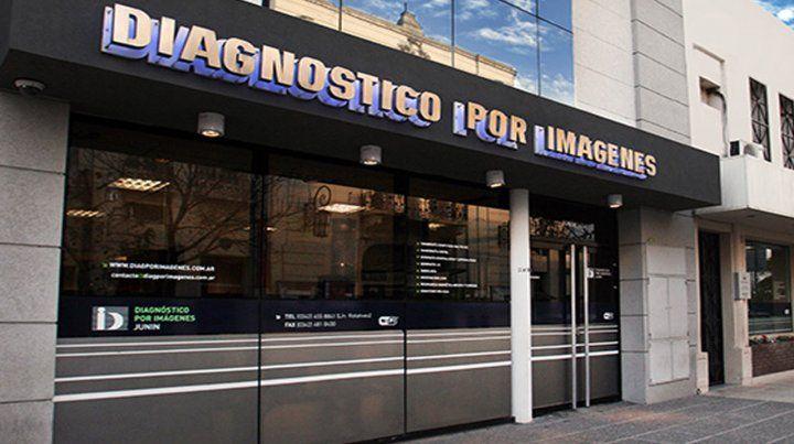 Daños y destrozos en la sede del Diagnóstico por Imágenes del macrocentro santafesino
