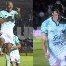 Diego Vera y Germán Conti.