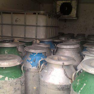 decomisaron cerca de 3 mil kilos de crema en mal estado