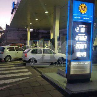 rige el aumento de combustibles en santa fe: asi quedaron los precios