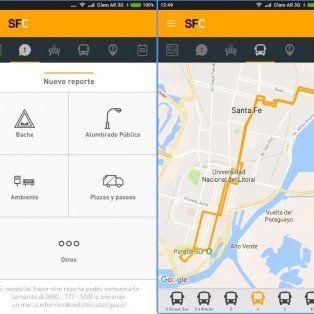 la municipalidad presento una app para reportar problemas y conocer informacion de servicios