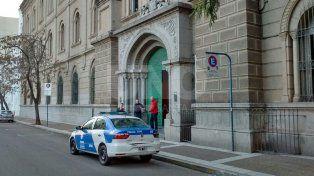 Amenaza de bomba en el colegio Inmaculada registrada días atrás. Gentileza Radio Eme.