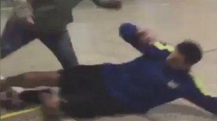 Sin contemplaciones: Pablo Migliore casi quiebra a un amigo de una patada