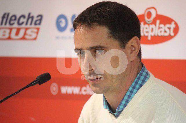 El contrato de Martín Zuccarelli también es otro a renovar por parte de los dirigentes de Unión.