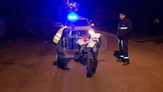 Gendarmería apresó a un hombre con una moto robada en Santo Tomé