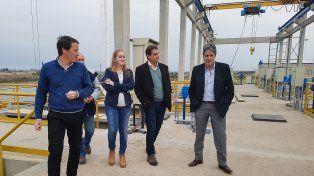 A partir de agosto funcionará el acueducto para proveer agua potable a Santo Tomé, Sauce Viejo y Desvío Arijón