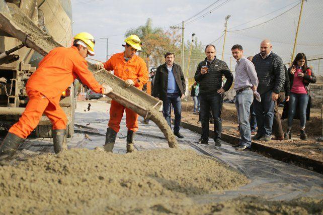 Nación y Municipio avanzan en la pavimentación de calles del norte de la ciudad