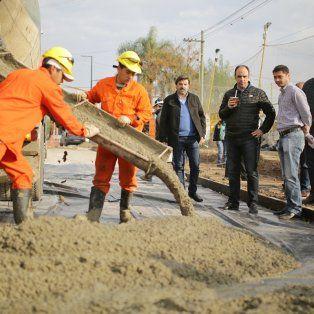 nacion y municipio avanzan en la pavimentacion de calles del norte de la ciudad
