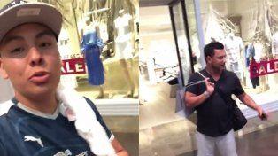 Un hincha de Monterrey cargó duro contra el Turco Mohamed