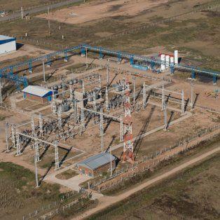 santa fe habilito la primera estacion transformadora de 220 kilovatios en perez