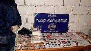 Cayó una vendedora barrial de cocaína y marihuana en Santo Tomé