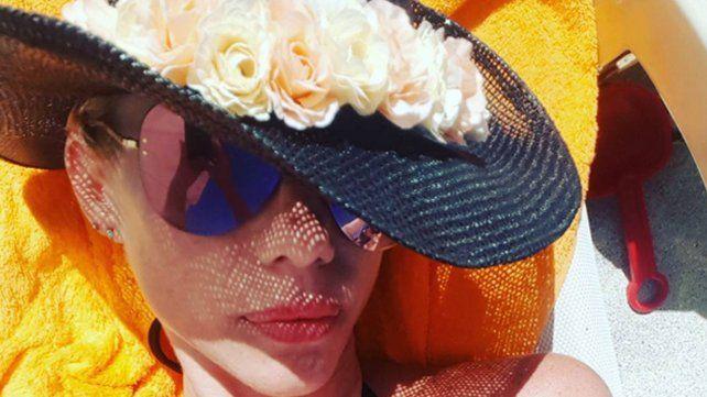 De la selfie hot a la melancolía por las vacaciones de sus hijas con Poroto