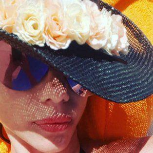 de la selfie hot a la melancolia por las vacaciones de sus hijas con poroto