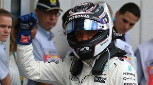 Valtteri Bottas hizo la pole y largará en la primera fila del Gran Premio de Austria
