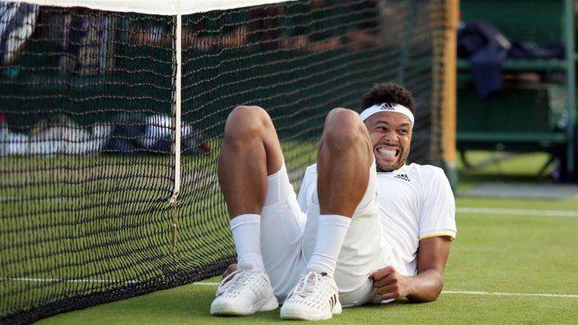 Wimbledon: Jo-Wilfried Tsonga cayó en sólo cinco minutos ante Sam Querrey