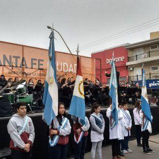 Día de la Independencia: comenzó el festejo por el 9 de Julio en Aristóbulo del Valle