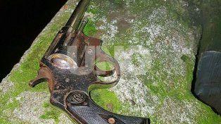 Al hombre le secuestraron un arma de guerra cargada
