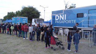 Se podrá tramitar el DNI en barrio El Pozo