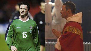 De futbolista a sacerdote: jugó en el Manchester United, pero decidió dedicar su vida a la religión