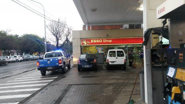 Dos motochorros asaltaron una estación de servicio