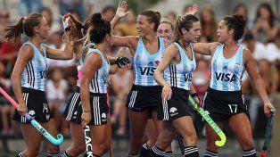 Las Leonas derrotaron a Chile en la Liga Mundial de Hockey