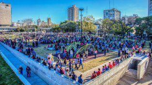 Divertite en la Ciudad recorre las plazas, parques y paseos