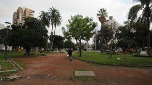 Buscan que los precandidatos a concejal se comprometan con la plaza San Martín
