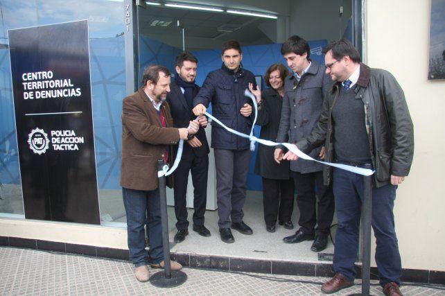 Inauguraron un nuevo Centro Territorial de Denuncias en el norte de la ciudad