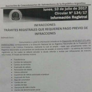seran mas los tramites por los que se exigira el pago de las multas transito