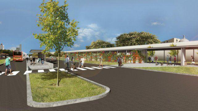 Se inauguró el nuevo Mercado de Flores del Cementerio Municipal