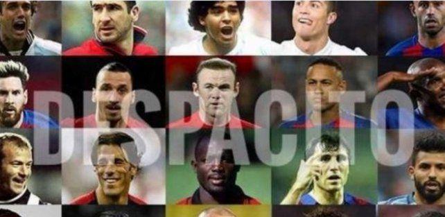 Una imperdible versión de Despacito compila los nombres de 178 futbolistas