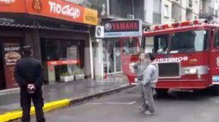 Se incendió una reconocida casa de comidas en pleno microcentro santafesino