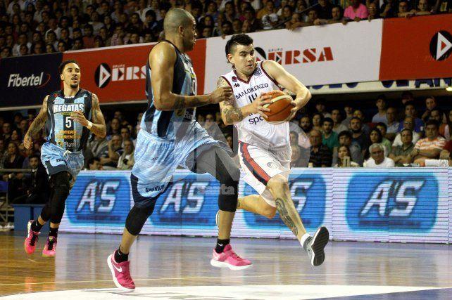 San Lorenzo quedó a un paso del bicampeonato en la Liga Nacional