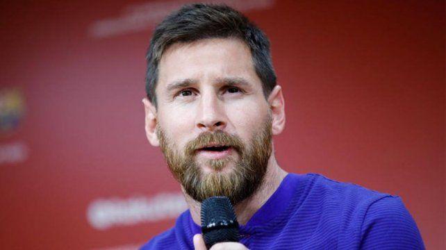 Messi: Trataremos de ganar todo lo que jugamos