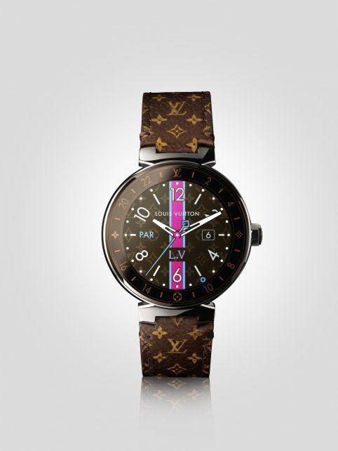 Casi 60 mil pesos: Louis Vuitton presentó el reloj inteligente más caro del mundo