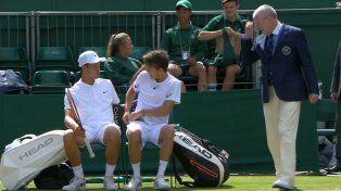 Debió cambiarse los calzoncillos por una regla en Wimbledon